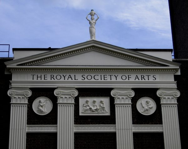 (Award) Elected as the Fellow of the Royal Society of Arts (UK)